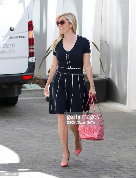 Reese Witherspoon is seen on March 15 2017 in Los Angeles California