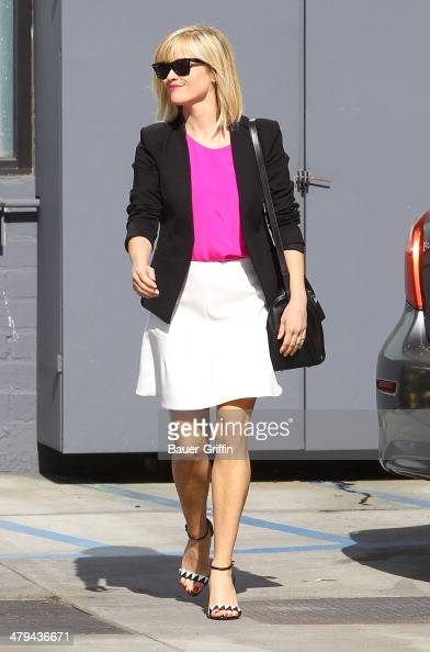Reese Witherspoon is seen on March 18 2014 in Los Angeles California
