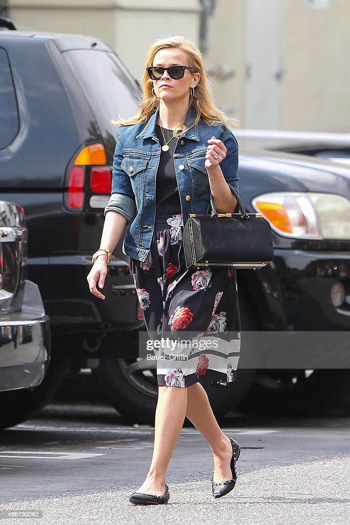 Reese Witherspoon is seen on March 18 2015 in Los Angeles California