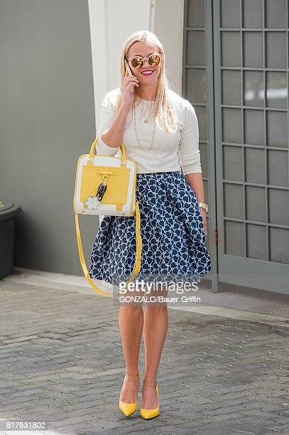 Reese Witherspoon is seen on March 25 2016 in Los Angeles California