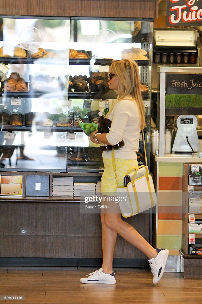 Reese Witherspoon is seen on May 01, 2016 in Los Angeles, California.