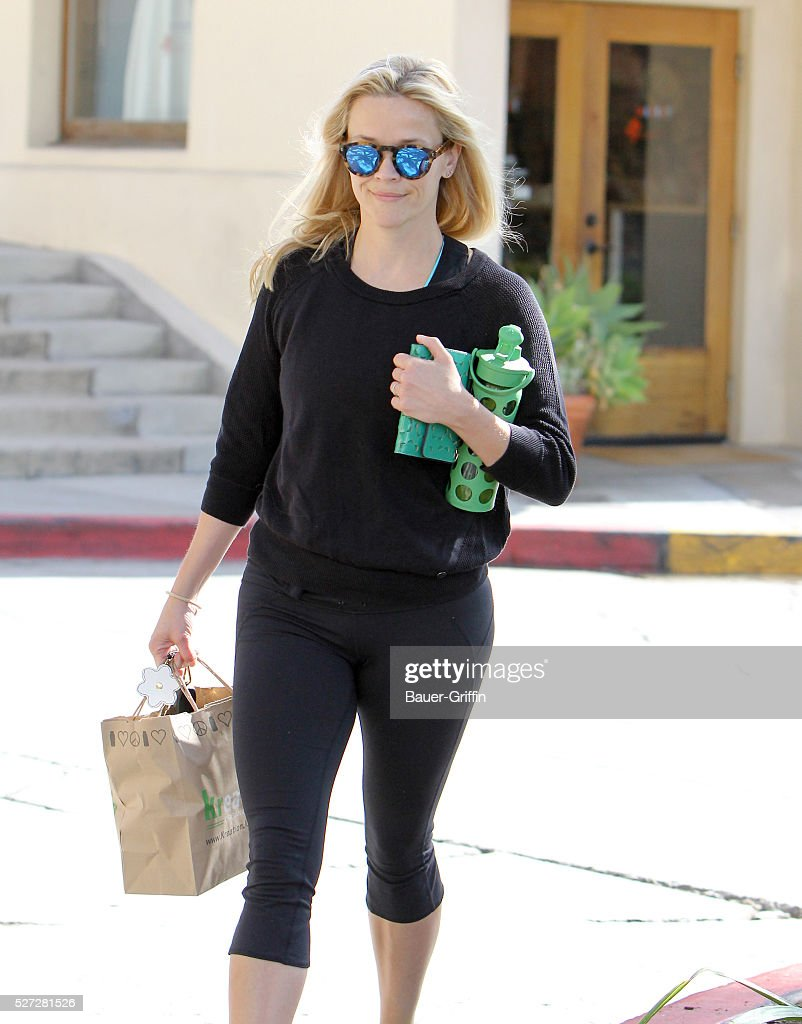 Reese Witherspoon is seen on May 02, 2016 in Los Angeles, California.