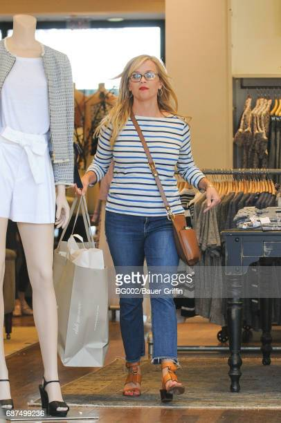 Reese Witherspoon is seen on May 23 2017 in Los Angeles California