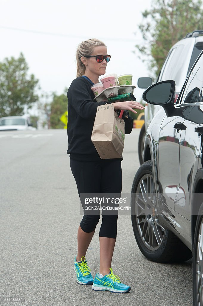 Reese Witherspoon is seen on May 29, 2016 in Los Angeles, California.