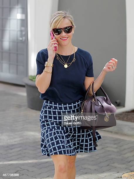 Reese Witherspoon is seen on October 23 2014 in Los Angeles California