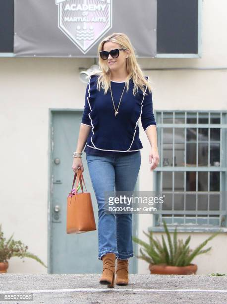 Reese Witherspoon is seen on September 30 2017 in Los Angeles California