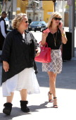 Reese Witherspoon is seen with her mother Betty Witherspoon on March 19 2014 in Los Angeles California