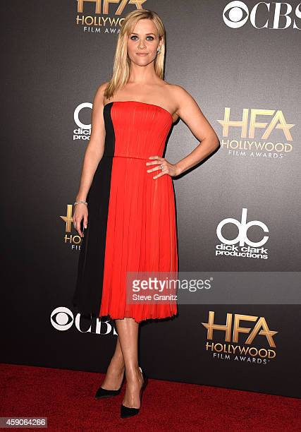 Reese Witherspoon poses at the 18th Annual Hollywood Film Awards at the Hollywood Palladium on November 14 2014 in Hollywood California