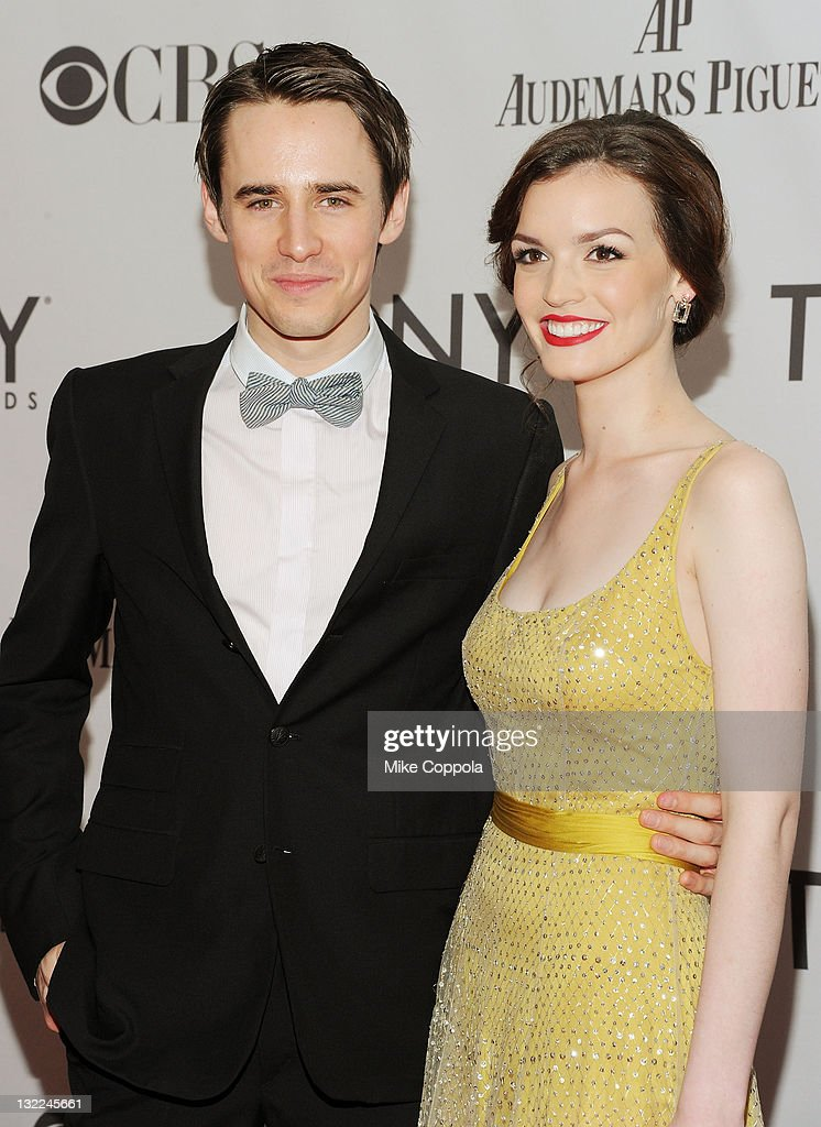 Reeve Carney and Jennifer Damiano attends the 65th Annual Tony Awards at the Beacon Theatre on June 12 2011 in New York City