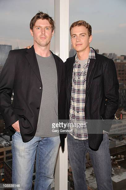 Reeve Foundation's Champions Committee member Matthew Reeve and actor Hayden Christensen attend the Reeve Champions Summer Party hosted by Dior...