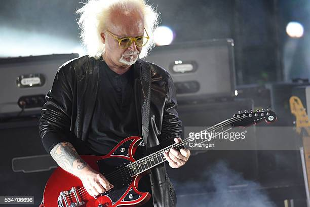 Reeves Gabrals of The Cure perform at Shoreline Amphitheatre on May 26 2016 in Mountain View California