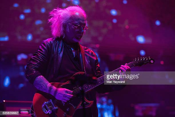 Reeves Gabrals of The Cure performs on stage during the Sasquatch Music Festival at Gorge Amphitheatre on May 29 2016 in George Washington
