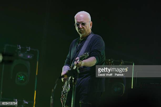 Reeves Gabrels from The Cure performs at AccorHotels Arena on November 15 2016 in Paris France
