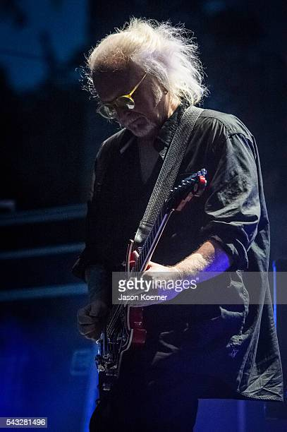 Reeves Gabrels of The Cure performs at Bayfront Park Amphitheater on June 26 2016 in Miami Florida