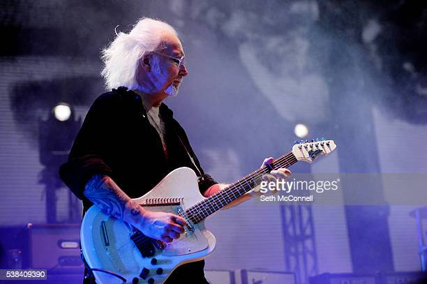 Reeves Gabrels of The Cure performs at Fiddlers Green Amphitheatre in Englewood Colorado on June 5 2016