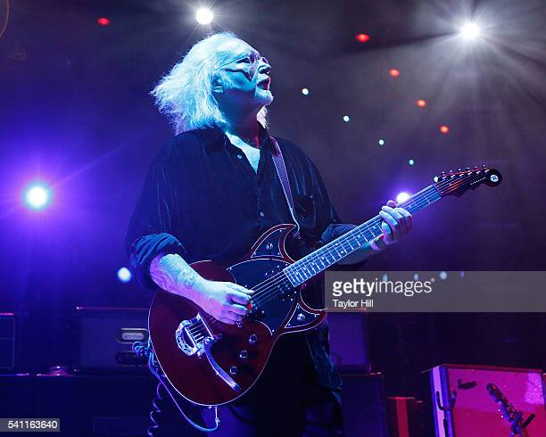 Reeves Gabrels of The Cure performs at Madison Square Garden on June 18 2016 in New York City