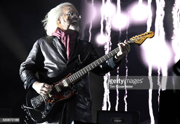 Reeves Gabrels of The Cure performs during the Sasquatch Music Festival at Gorge Amphitheatre on May 29 2016 in George Washington