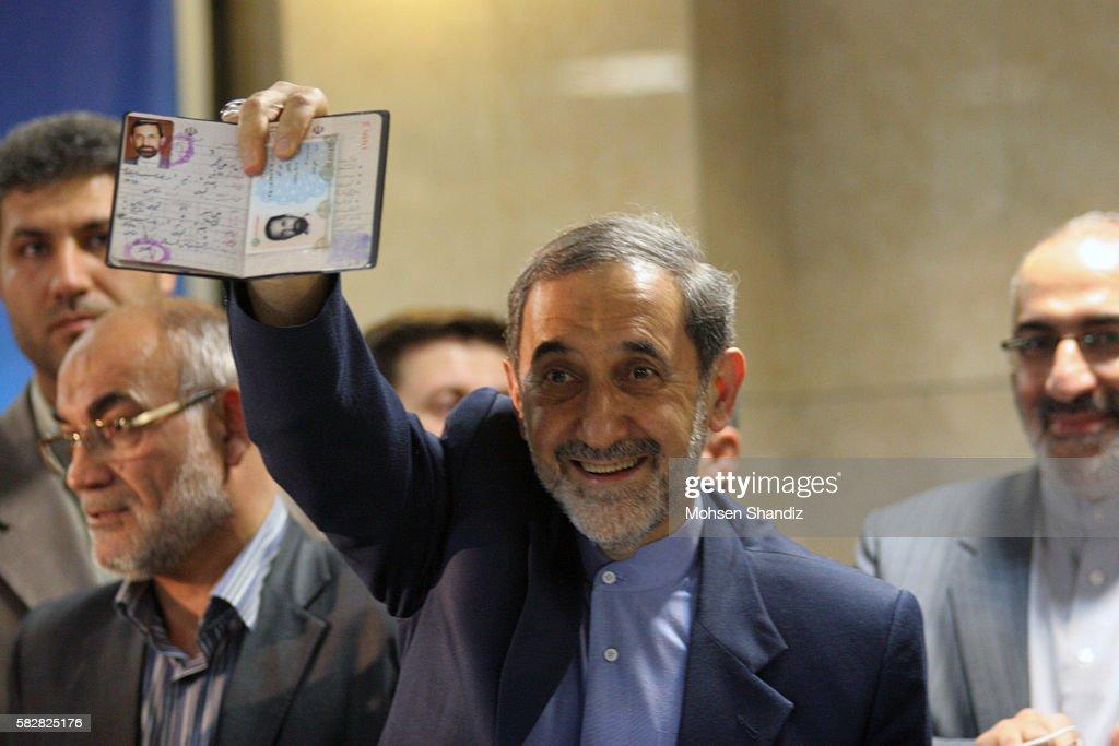 Ref Nic6215104 This document contains restrictions IRAN Tehran Iranian conservative Ali Akbar Velayati adviser to Iran's supreme leader Ayatollah Ali...