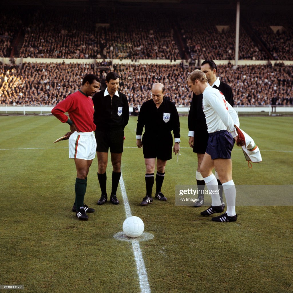 Soccer World Cup England 1966 Semi Final Portugal v England
