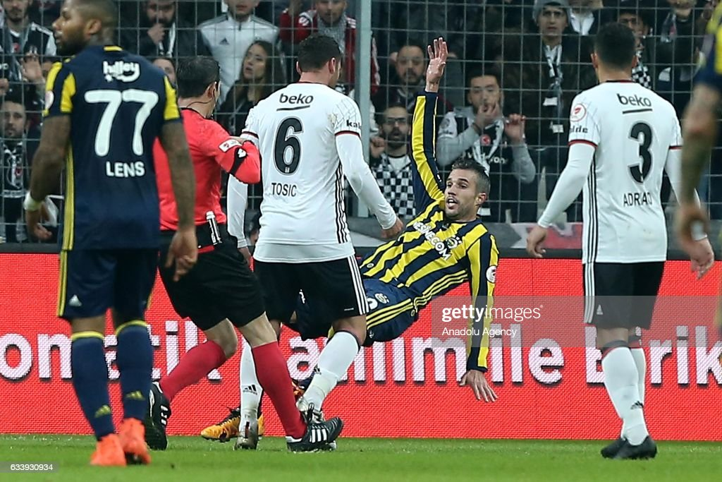 Besiktas v Fenerbahce - Ziraat Turkish Cup : News Photo