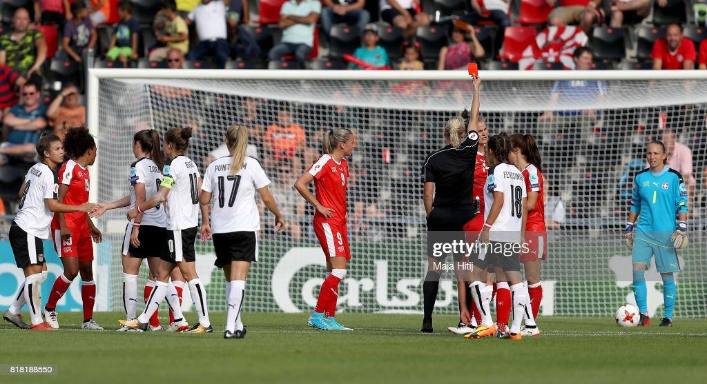 Austria v Switzerland - UEFA Women's Euro 2017: Group C