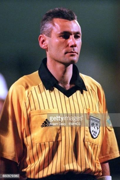 Referee Darius Miezelis
