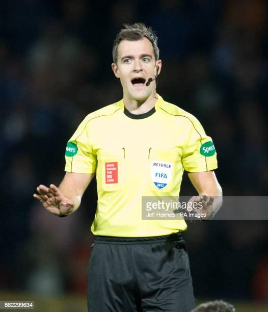 Referee Don Robertson