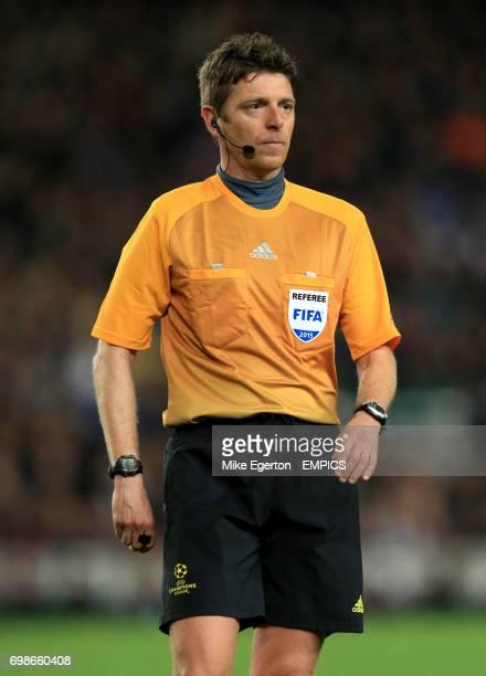 Referee Gianluca Rocchi