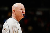 Referee Joe Crawford oversees the action between the Sacramento Kings and the Denver Nuggets at Pepsi Center on November 3 2014 in Denver Colorado...