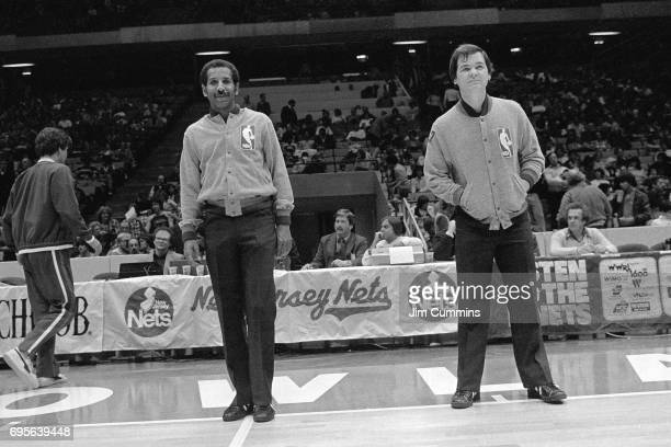Referee Joey Crawford smiles circa 1980 at the Brendan Byrne Arena in East Rutherford New Jersey NOTE TO USER User expressly acknowledges and agrees...