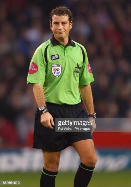 Referee Mark Clattenburg