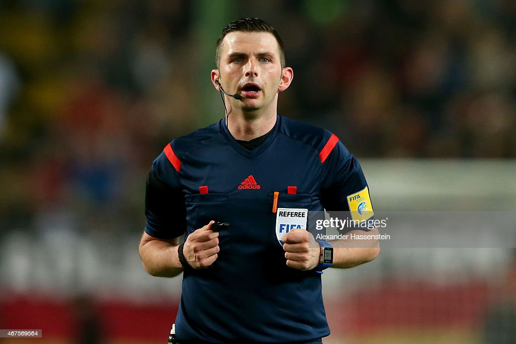 Michael Oliver - Soccer Referee | Getty Images