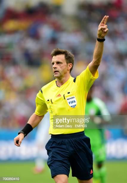 Referee Nicola Rizzoli