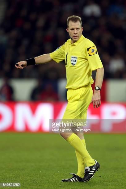 Referee Olivier Thual