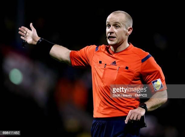 Referee Szymon Marciniak