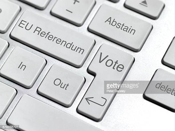 EU referendum keyboard