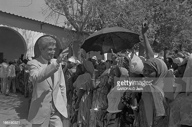 Referendum On Independence Of The French Coast Of Somali On May 8 1977 Côte française des Somalis 8 mai 1977 Vote pour le référendum au sujet de...