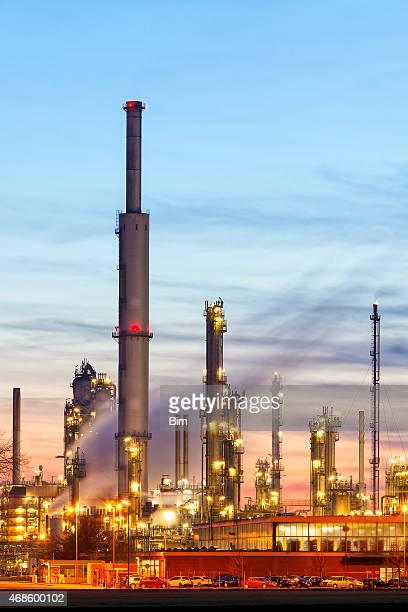 製油所の石油化学産業