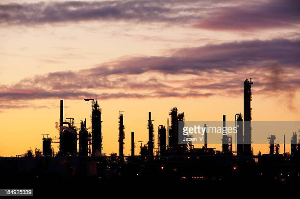 Refinery Silhouette