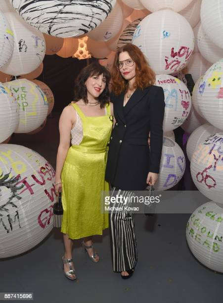 Refinery29 Executive Creative Director and CoFounder Piera Gelardi and Refinery29 Global EditorinChief and CoFounder Christene Barberich attend...