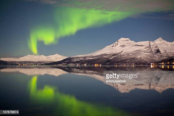Reflected Aurora