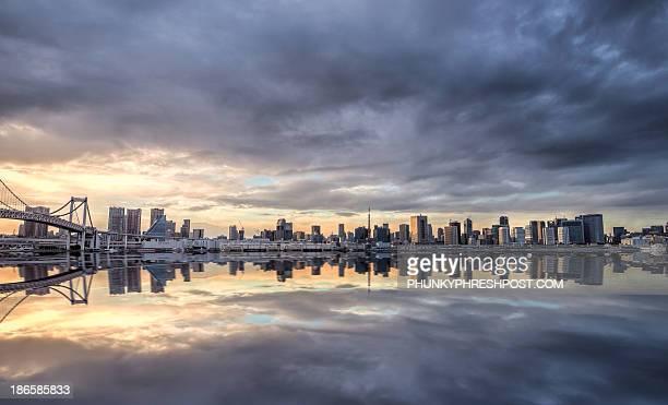 Reflected Tokyo.
