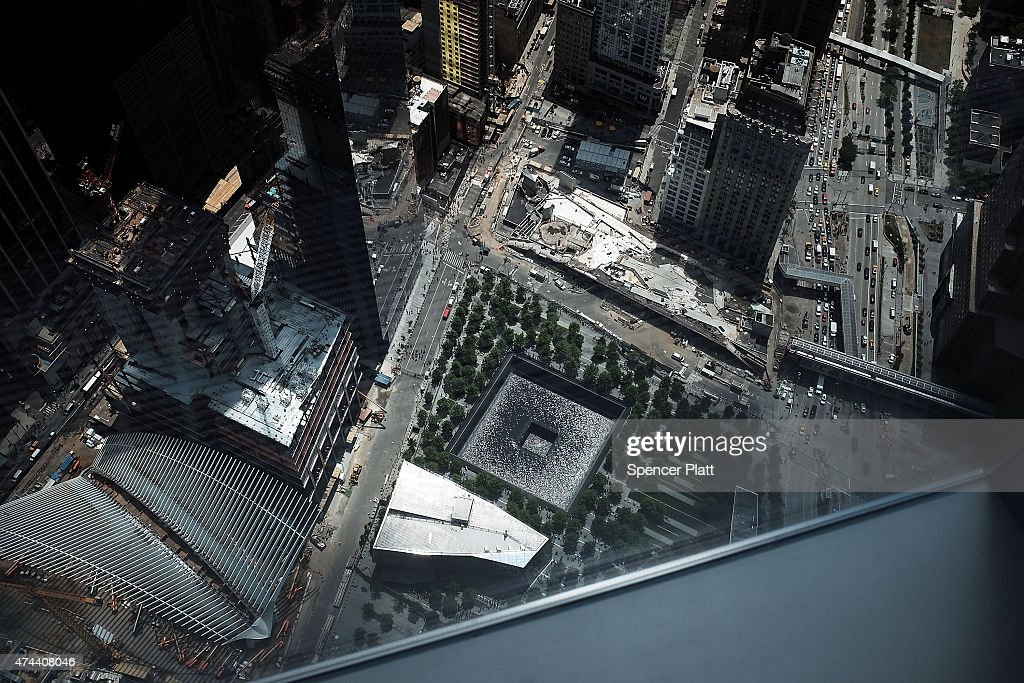 One world observatory views getty images for Pool trade show new york