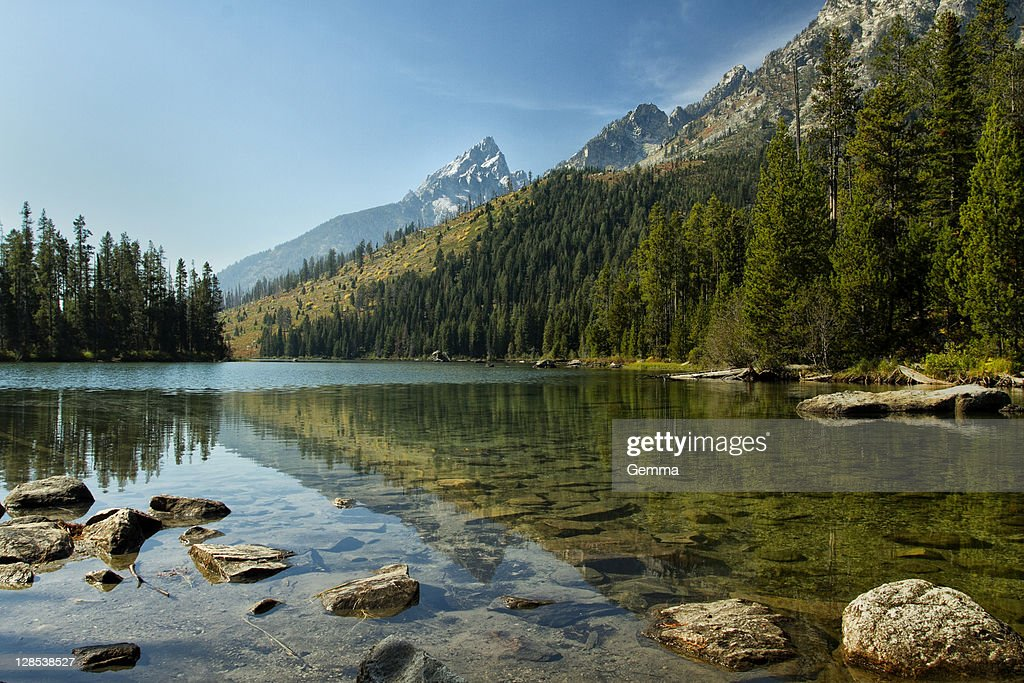 Reflection in lake : Stock Photo