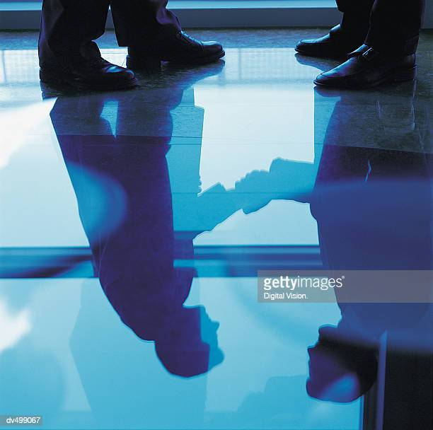 Reflection of a Handshake