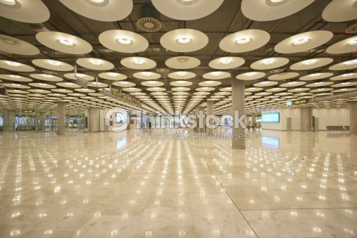 Reflection of ceiling lights on the floor inside a building stock reflection of ceiling lights on the floor inside a building stock photo aloadofball Choice Image