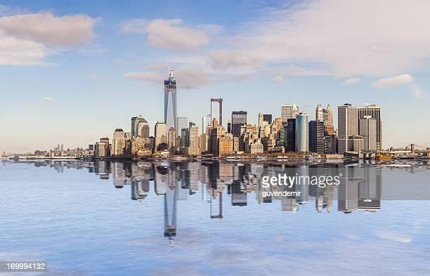 Reflejo de la ciudad de Nueva York