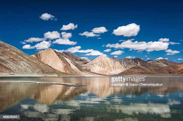 Reflection of Pangong Lake
