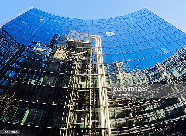 Reflection of the Lloyds Building