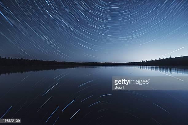 Reflexion der Stars
